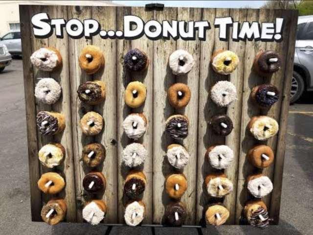 Event Donut Wall